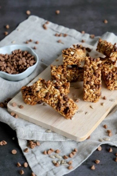 Chocolate cereal bar