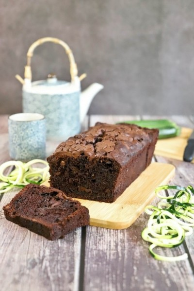 Cake chocolat-courgette